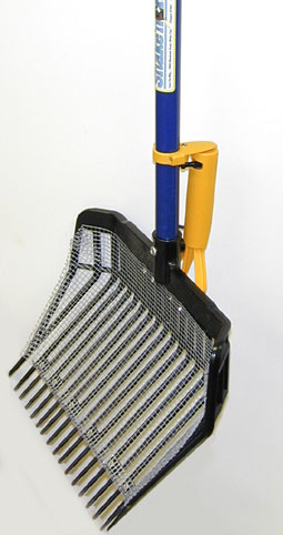 Screened Bunker Sand Power Rake from Equi-Tee Mfg.